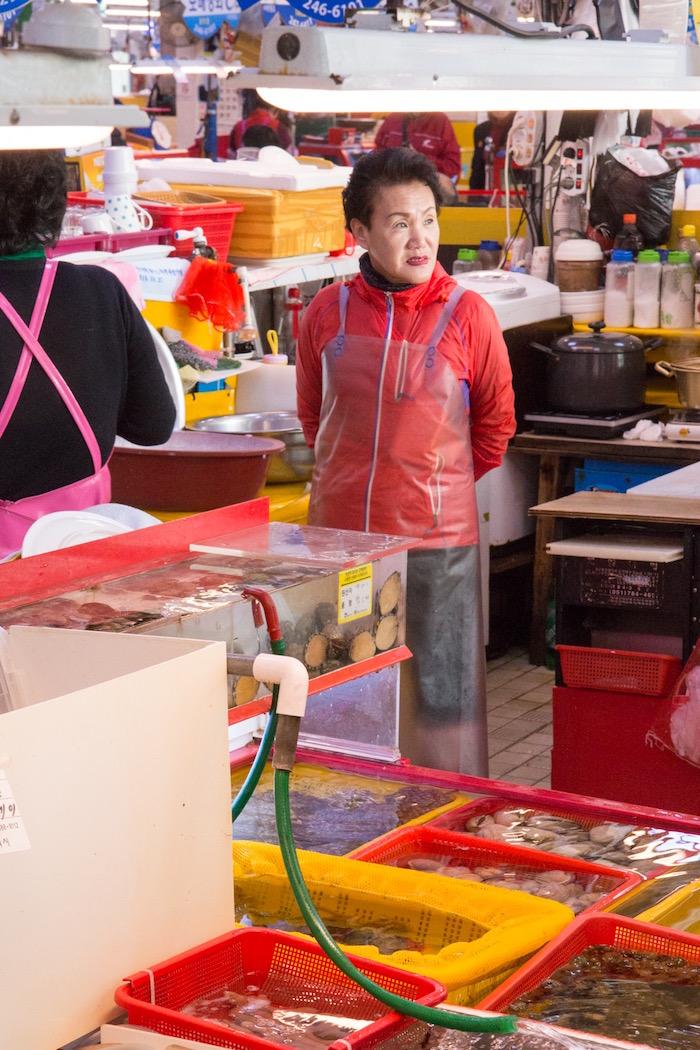 Jagalchi Market Busan South Korea