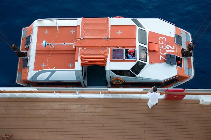 Cunard Queen Victoria Tender Boat