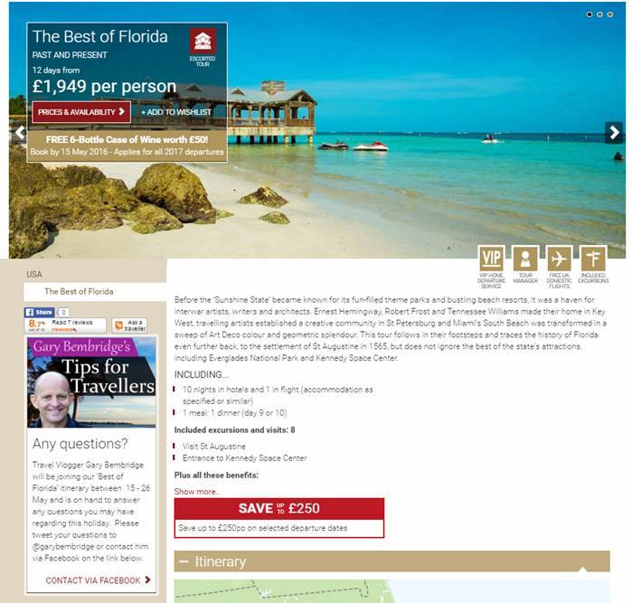 TItan Florida Tips For Travellers