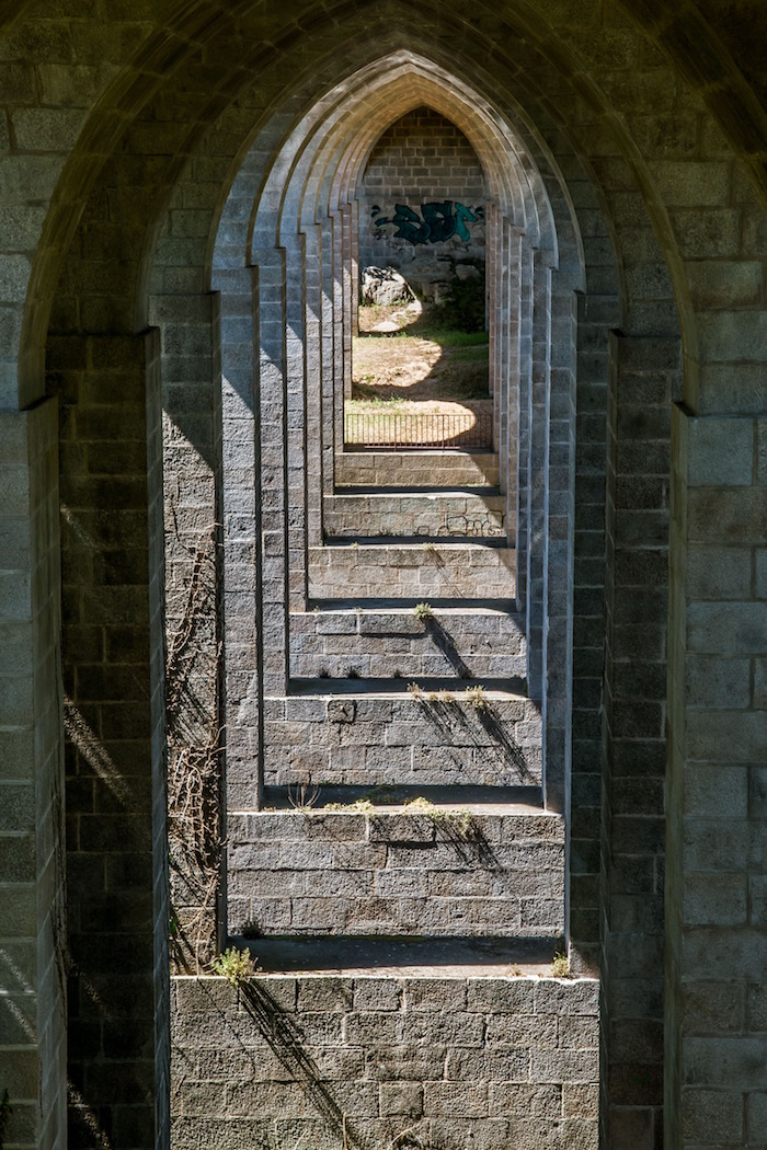 Archways of the Viaduct Clisson France