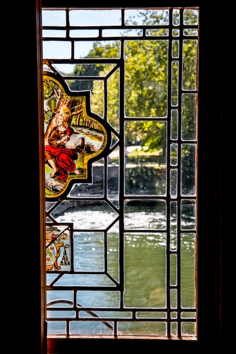 Stained Glass Window in Château d'Azay-le-Rideau