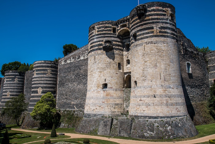 La Chateau d'Angers France