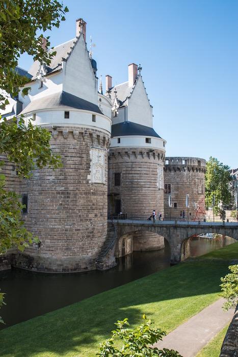 Nantes Château des ducs de Bretagne Castle France