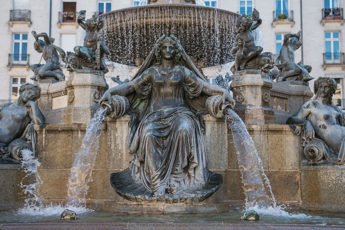 Place Royale Fountain Nantes