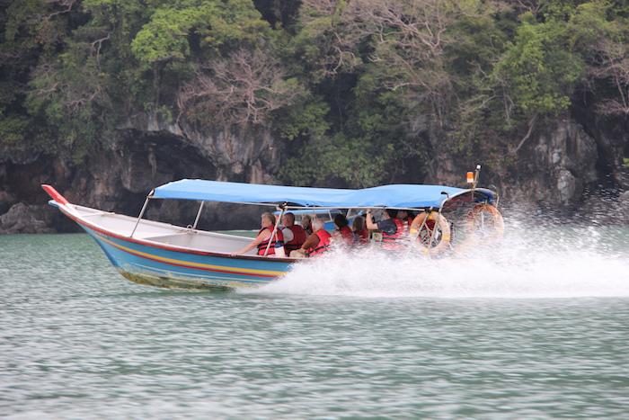 Langkawi Malaysia water taxi