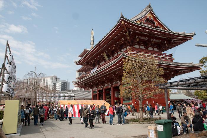 Sensōji Temple (Asakusa Kannon Temple) Tokyo, Japan
