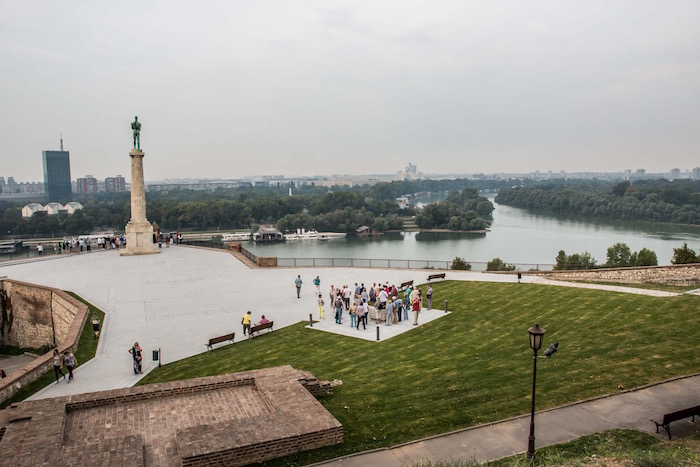 Belgrade from the fortress Serbia