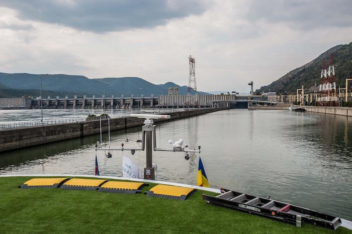Iron Gates I Danube Romania Serbia