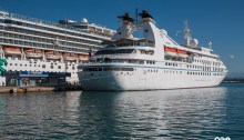 Windstar Cruises Star Breeze in Katakolon Greece