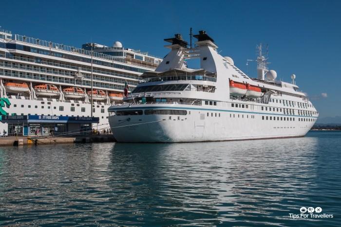 Windstar Cruises Star Breeze in Katakolon Greece