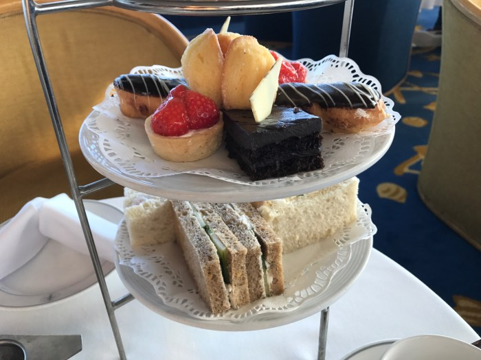 Traditional Afternoon Tea on Fred Olsen Balmoral