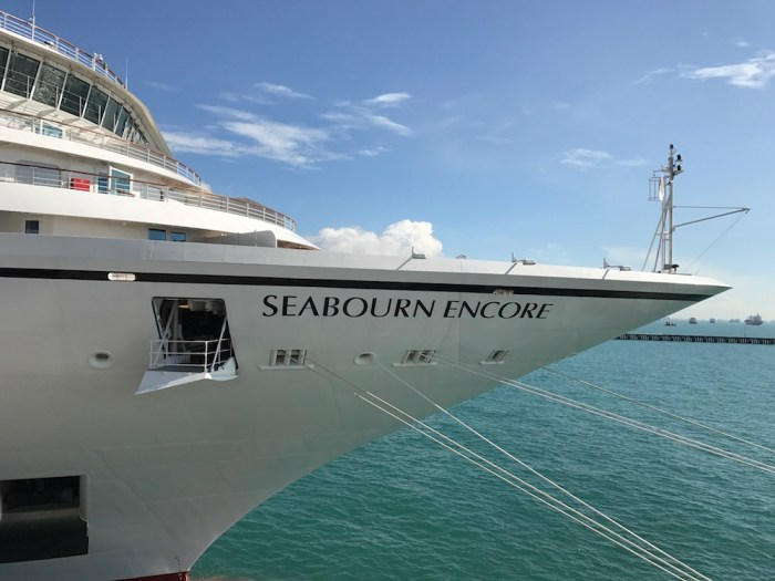 Seabourn Encore Bow