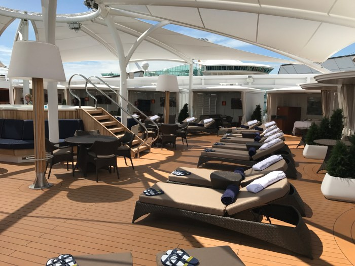 Seabourn Encore - The Retreat