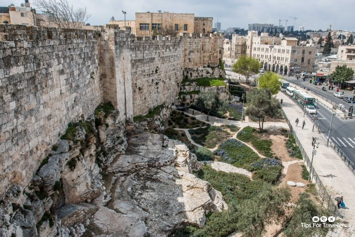 Old City Northern Ramparts Jerusalem