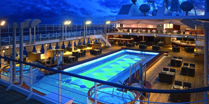 Silversea Silver Muse Pool Deck