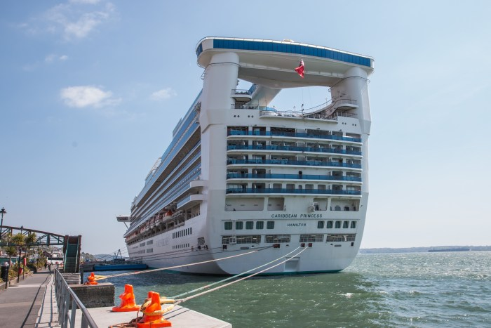 Princess Cruises Caribbean Princess in Cohb Ireland