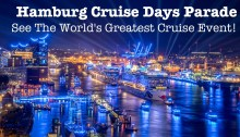 Hamburg Cruise Days Parade. The world's biggest and best celebration of cruising. More at https://www.tipsfortravellers.com/hamburg