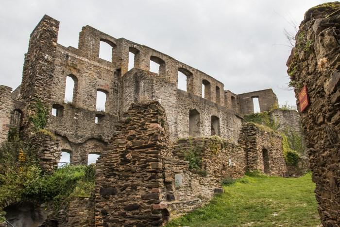 Rheinfels Castle, St Goar, Rhine River