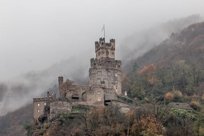 Castle Sooneck - Trechtingshausen - Rhine River Gorge - Germany