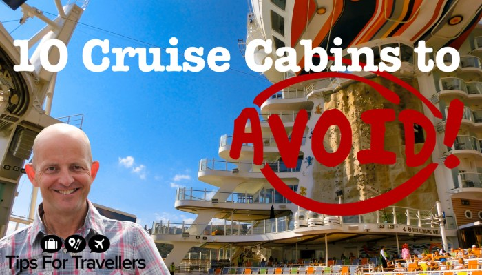 10 cruise cabins to avoid and why