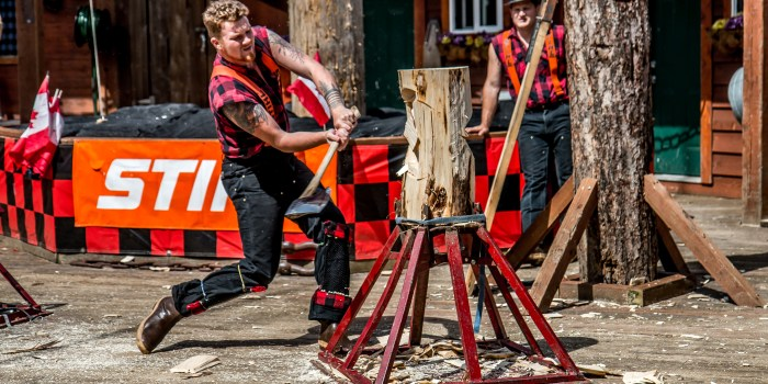 Great Lumberjack Show Ketchikan Alaska