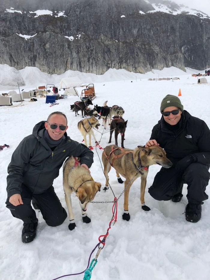 Dog Sledding Norris Glacier Juneau Alaska