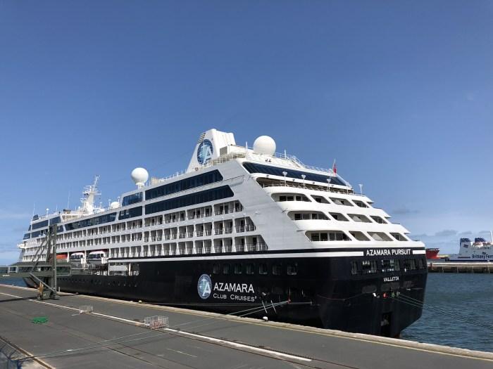 Azamara Club Cruises Pursuit cruise ship