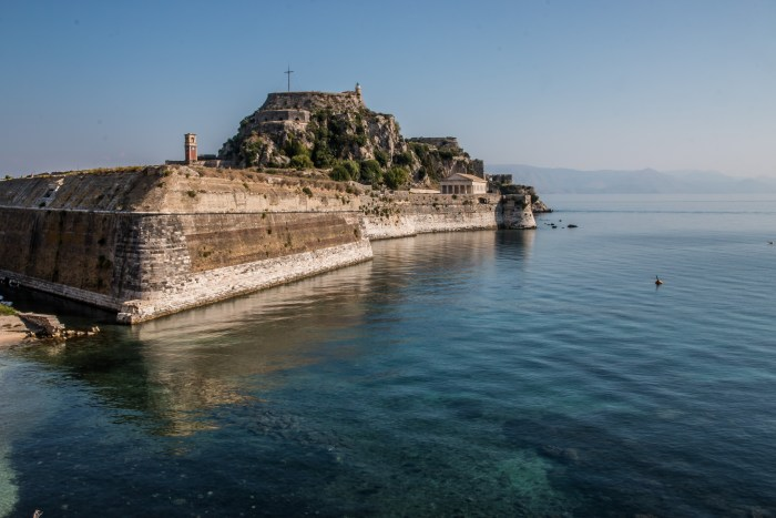 Old Fortress Corfu Greece