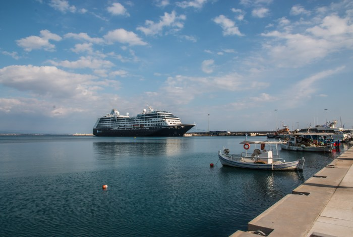 Azamara Pursuit in Katakolon Greece