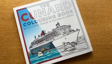 Cunard Colouring Book