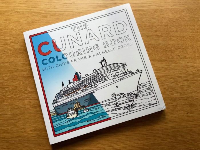Cunard Colouring Book