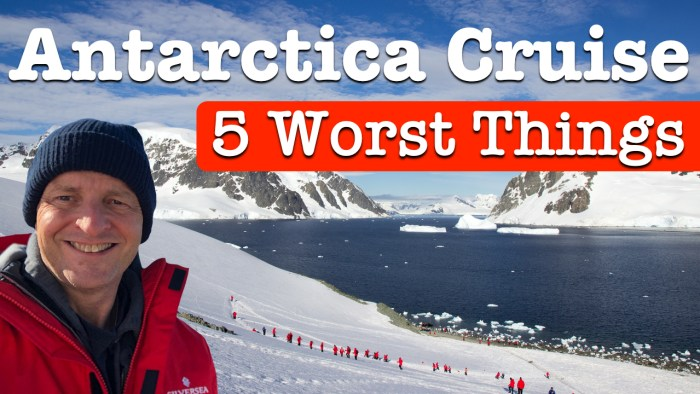 Antarctica Cruise Worst Things