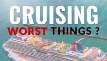 worst things about cruising