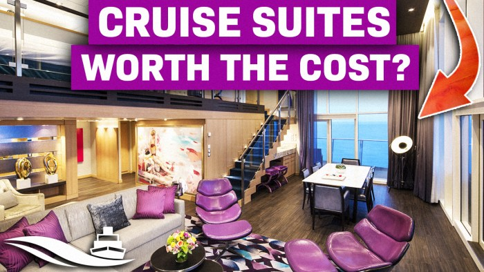 Is Cruising in a Suite Worth The Extra Cost - Yes or No