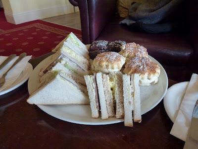 Afternoon tea : Craigsland Hotel, Ilkley, Yorkshire