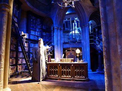 Dumbledore's Office at Harry Potter Studio Tour Warner Bros. Leavesden