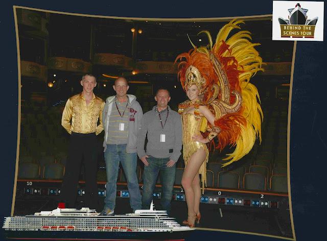 Behind the Scenes Tour on Queen Elizabeth: Royal Court Theatre Dancers