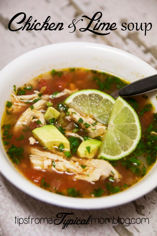 Chicken and Lime Soup Recipe