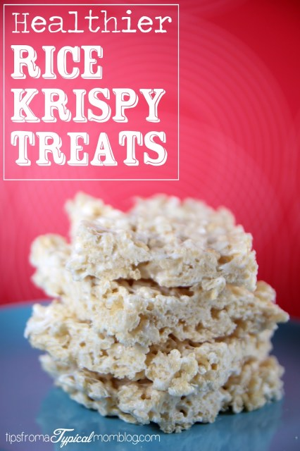 Healthier Rice Krispies Treats by Tips From a Typical Mom.