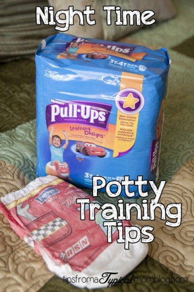 Tips for Potty Training at Night