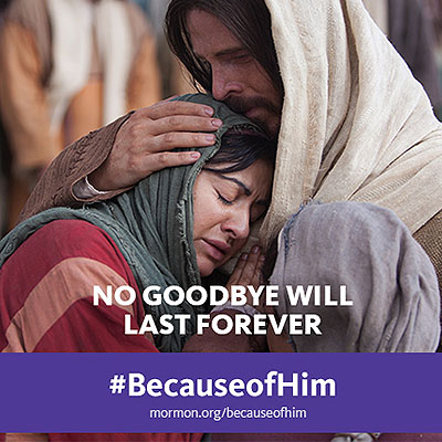 No Goodbye Will Last Forever #becauseofHim