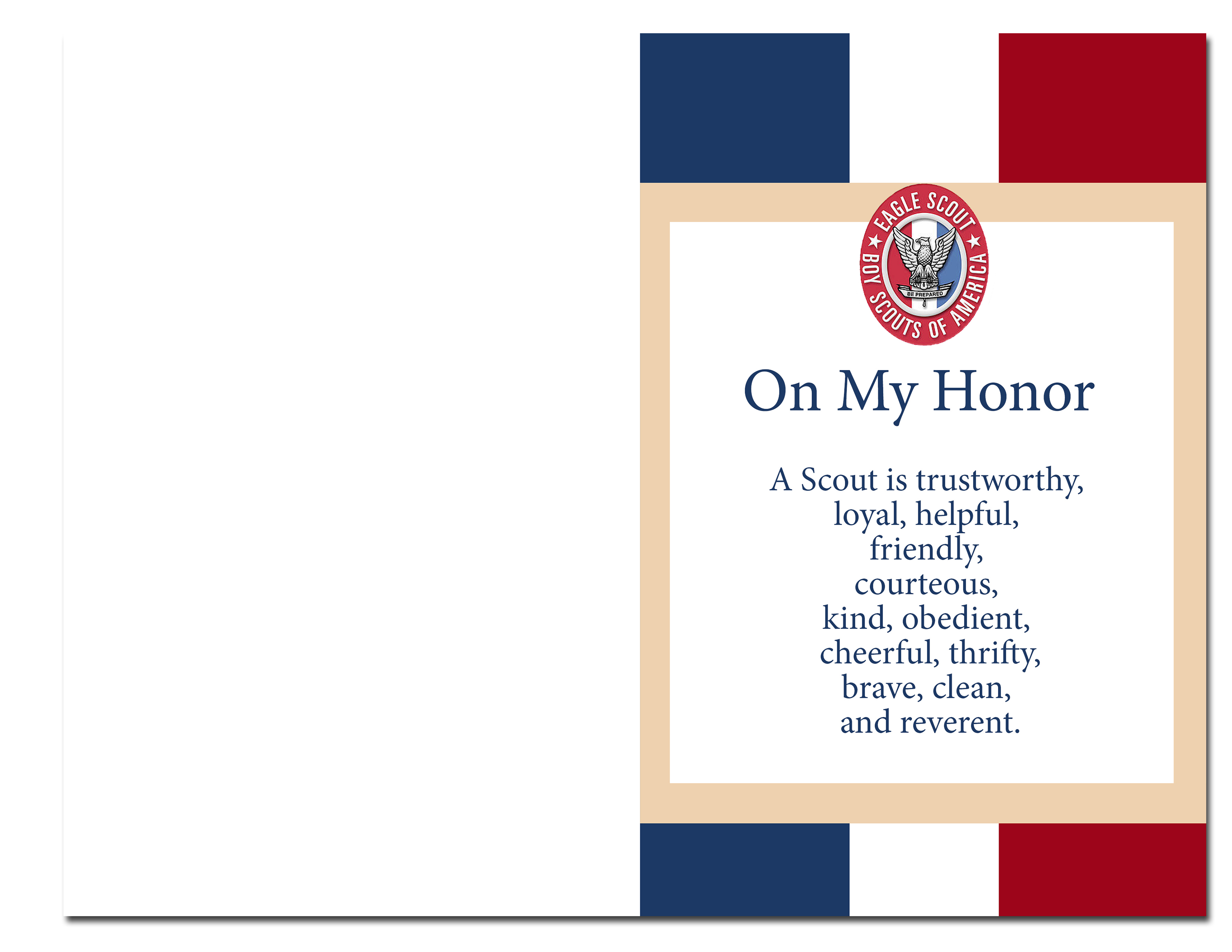 photograph regarding Eagle Scout Congratulations Card Printable identify Eagle Scout Court docket of Honor Tips and Absolutely free Printables