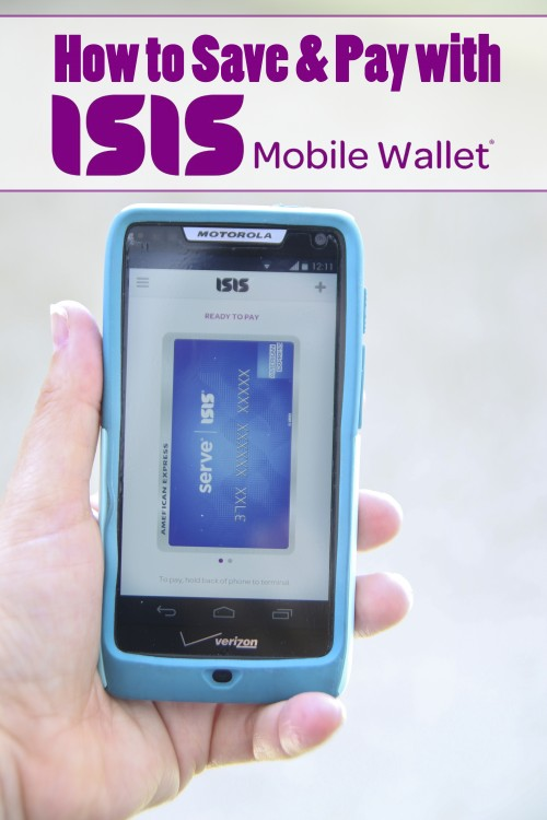 How to Pay & Save with Your Smartphone~ Isis Wallet