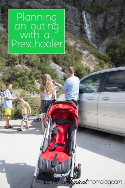 Planning an Outing with a Preschooler- GB Stroller Review