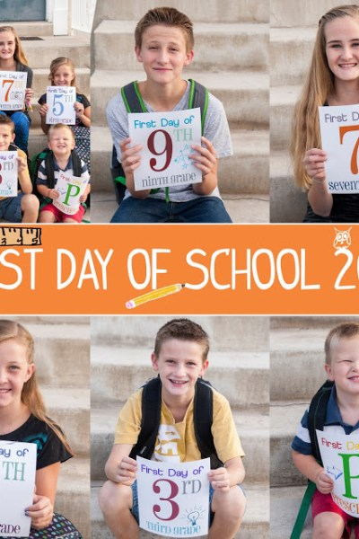 First day of School with zulily