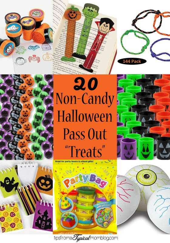 20 Non Candy Halloween Pass Out Treats