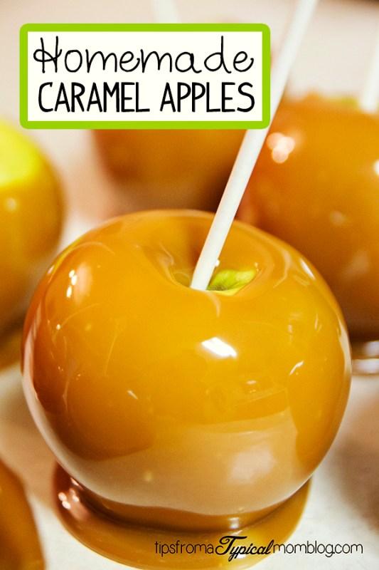 Homemade Caramel Apples Recipe