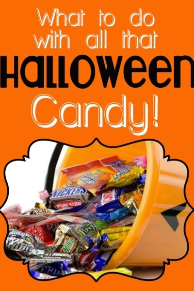 What to do with all that Halloween Candy!
