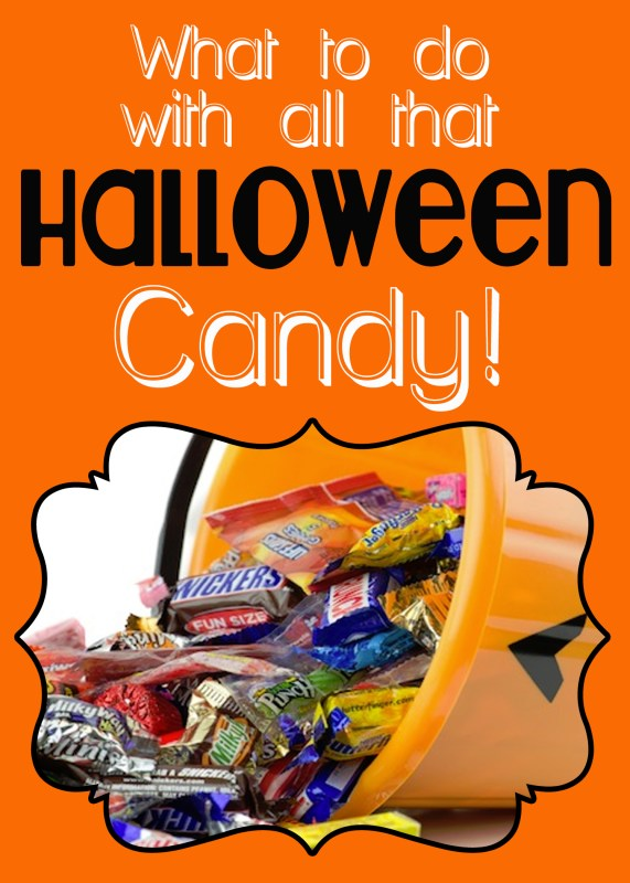 What to do with all that Halloween candy