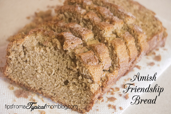 Amish Friendship Bread Recipe And Printable